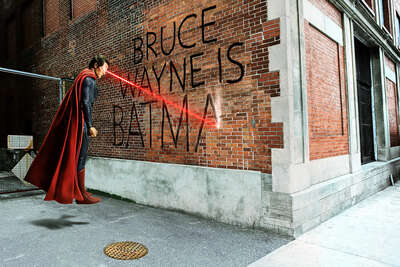 Gifts for Best Friends: Bruce Wayne Graffiti by Daniel Picard