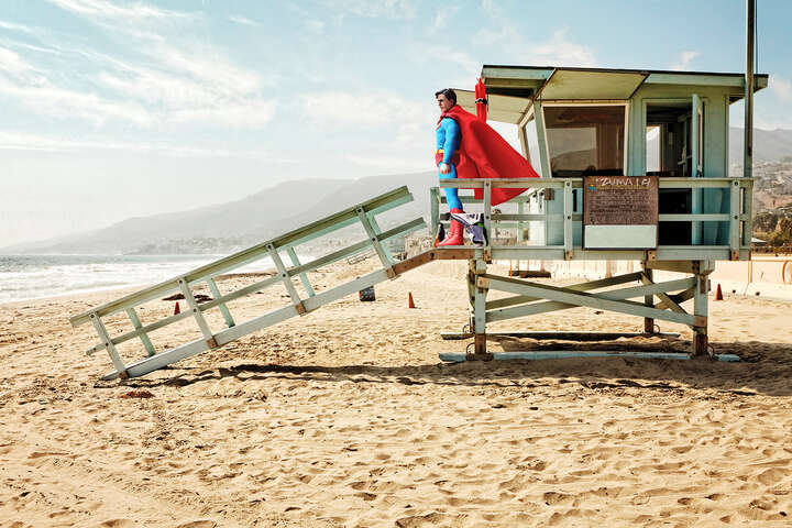 Super-Lifeguard von Daniel Picard