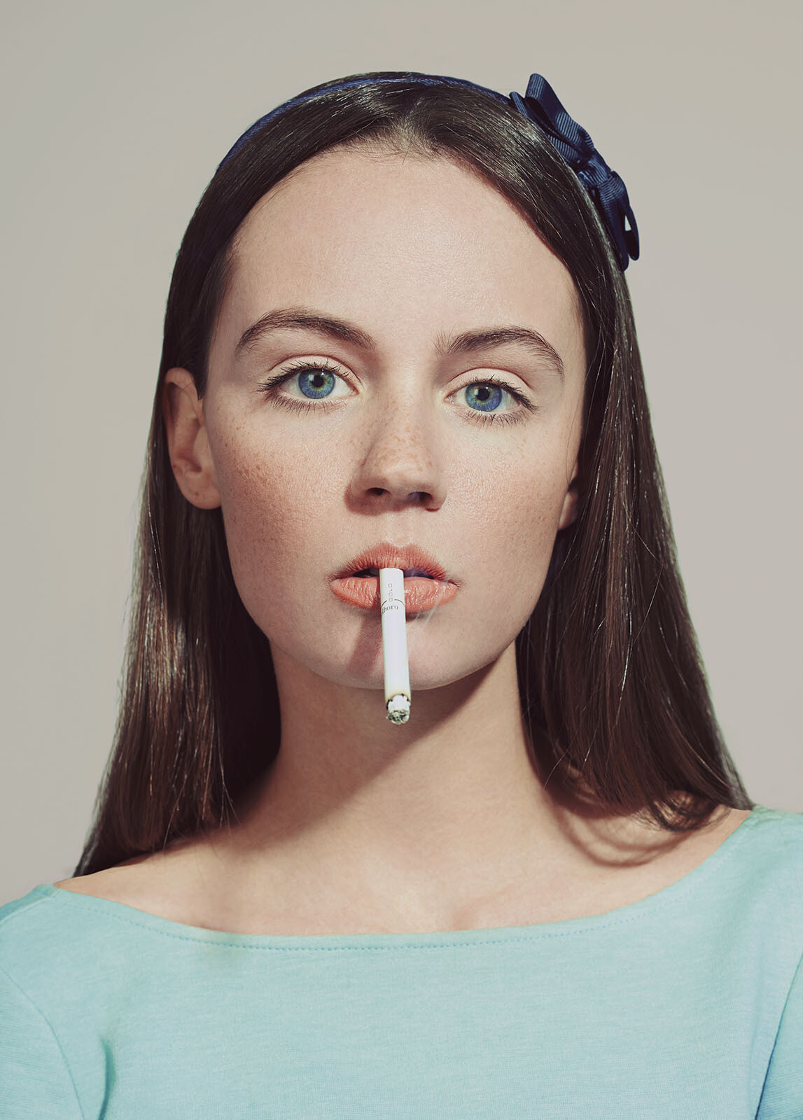 Indiana and the cigarette by Emmanuelle Descraques