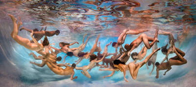 figurative art:  Underwater I by Ed Freeman