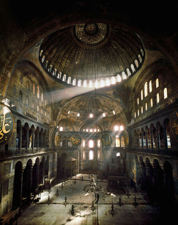Hagia Sophia, Istanbul by Erich Lessing