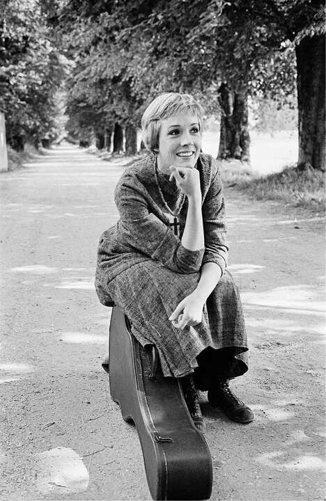 Julie Andrews as Maria II by Erich Lessing