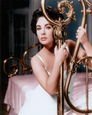 movie still of  Maggie (Elizabeth Taylor) by Richard Brooks