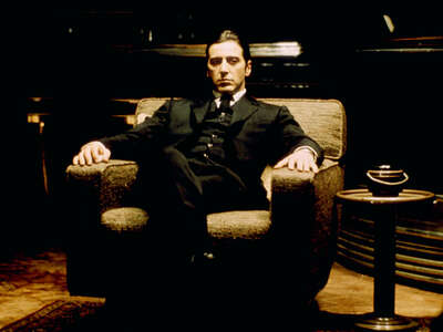 movie still of  Michael Corleone (Al Pacino) by Francis Ford Coppola