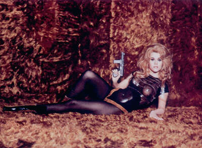 movie still of  Barbarella (Jane Fonda) by Roger Vadim