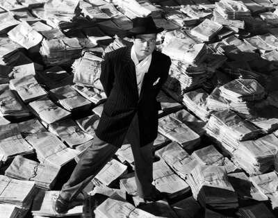 movie still of  Charles Foster Kane (Orson Welles) by Orson Welles