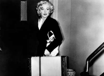 movie still of  Rose Loomis (Marilyn Monroe) by Henry Hathaway