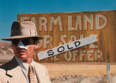 movie still of  J.J. Gittes (Jack Nicholson) by Roman Polanski