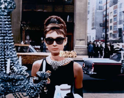 movie still of  Holly Golightly (Audrey Hepburn) by Blake Edwards