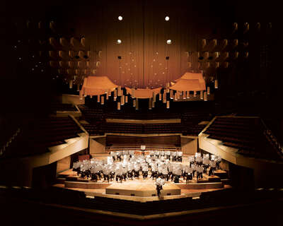 Berliner Philharmoniker, Simon Rattle von Faz Edition / Thomas Meyer