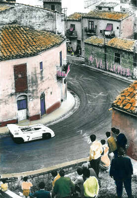 Farmhouse and Country Style Artworks: Race in Sicily by Frank M. Orel