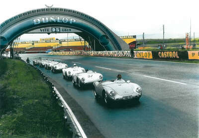 Vintage Photography: Le Mans by Frank M. Orel
