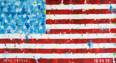 US Flag von Freddy Reitz