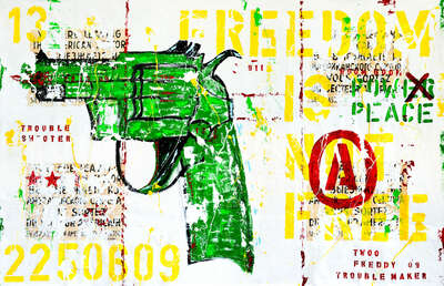 pop artworks by Sandra Rauch: Troubleshooter by Freddy Reitz