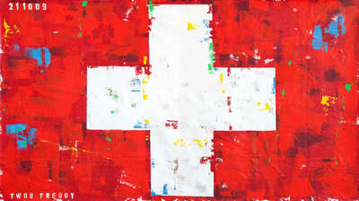 Suisse Flag by Freddy Reitz