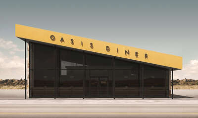 Oasis Diner by Geebird & Bamby