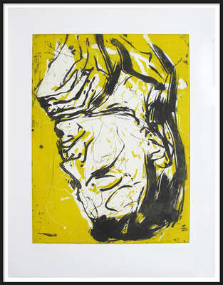Elke IV by Georg Baselitz