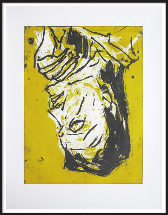 Elke VII by Georg Baselitz