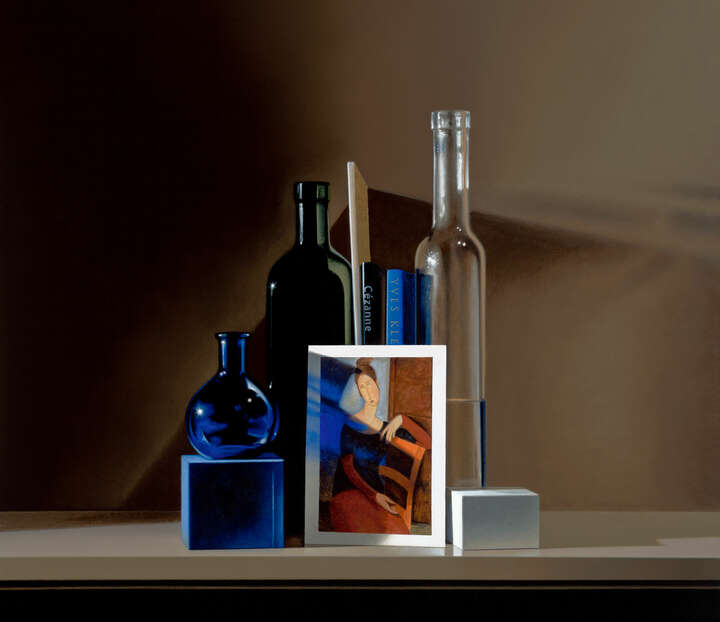 Still life with Modigliani by Guy Diehl