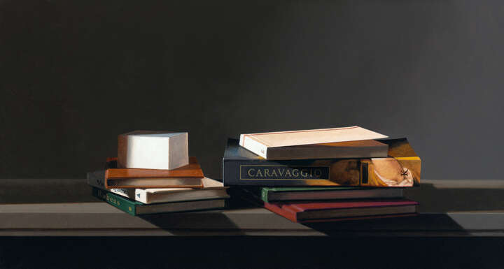 Still life with Caravaggio by Guy Diehl