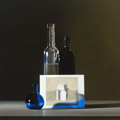 Still Life Art  Still life with Giorgio Morandi #2 by Guy Diehl