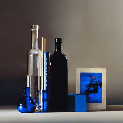 Stillleben Fotografie  Still life with Franz Kline von Guy Diehl
