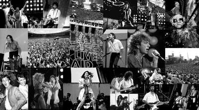 curated black and white prints: Woodstock by Music Collection