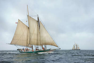 Lady Maryland Racing on the Chesapeake Bay de Greg Pease