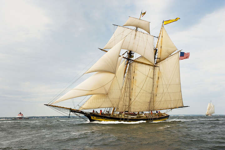 Pride of Baltimore II, Racing on the Chesapeake Bay by Greg Pease