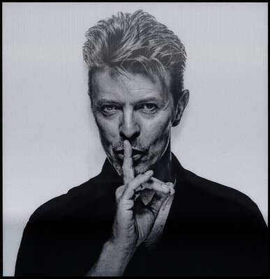 David Bowie Picture: Lazarus LVII by Gavin Evans
