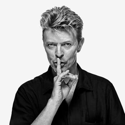 Celebrity Portrait Photography:  David Bowie OE2 by Gavin Evans