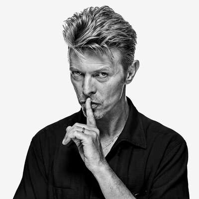 Celebrity Portrait Photography:  David Bowie OE7 by Gavin Evans