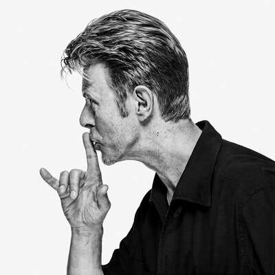 Portrait Painting  David Bowie OE9 by Gavin Evans