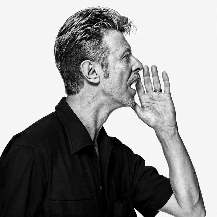 David Bowie OE10 by Gavin Evans