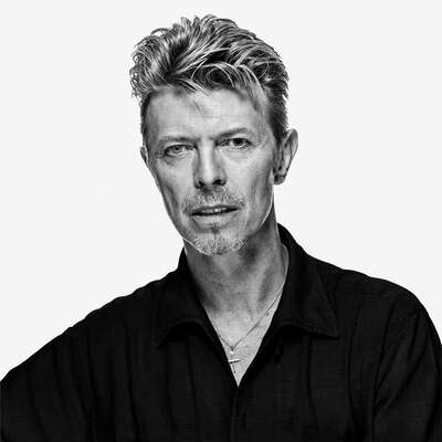 Celebrity Portrait Photography:  David Bowie OE23 by Gavin Evans