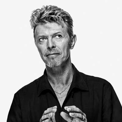 Celebrity Portrait Photography:  David Bowie OE44 by Gavin Evans