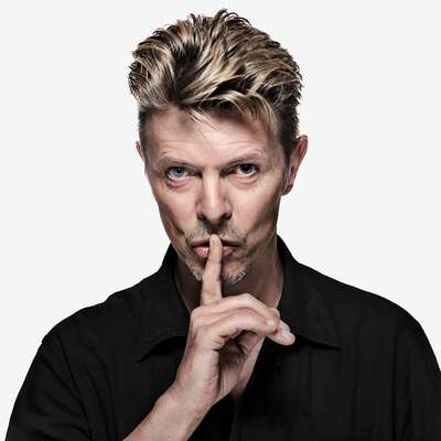 Celebrity Portrait Photography:  David Bowie OE45 by Gavin Evans