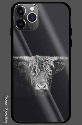 iPhone 12 Pro Max - Hochlandrind by Claudio Gotsch
