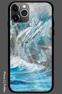 iPhone 11 Pro Max - Genevieve's Wave by Matthew Cusick