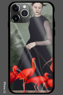 iPhone 11 - The Lady Of The Ibis by Daria Petrilli