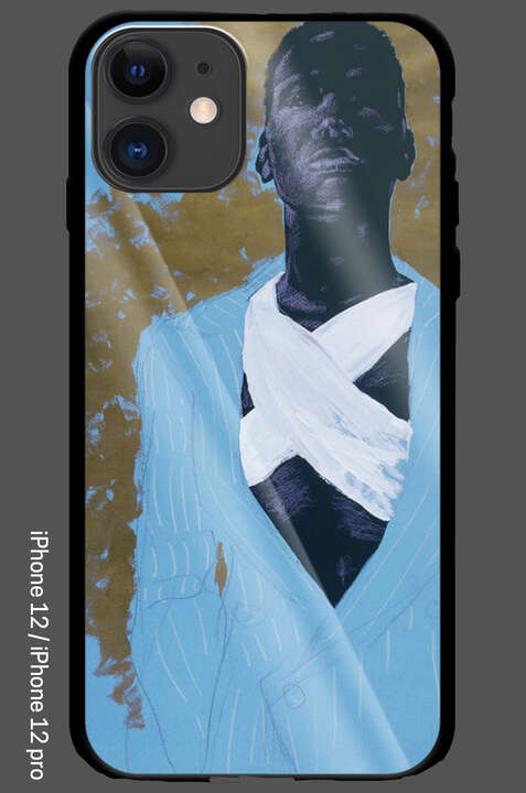 iPhone 12 / 12 Pro - Black Men's Fashion - Back From N.Y. by Wolfgang Joop