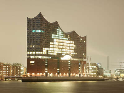 ocean and coastal wall art:  Hamburg, Elbphilharmonie by Horst & Daniel Zielske