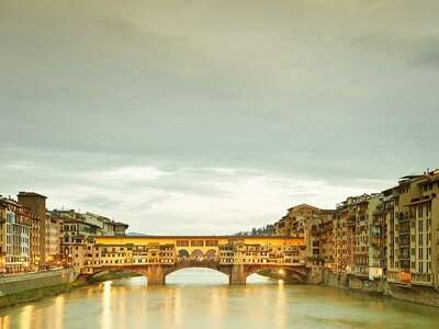 nature wall art and landscape prints  Ponte Vecchio, Florenz by Horst & Daniel Zielske