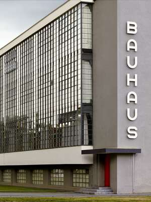 City Wall Art  Bauhaus by Horst & Daniel Zielske