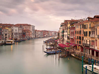 water art photography:  Canal Grande dal ponte di Rialto by Horst & Daniel Zielske