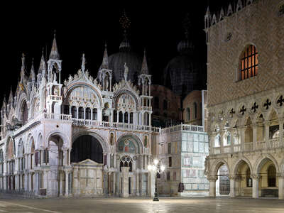 famous artists and old masters: Basilica di San Marco e Palazzo Ducale by Horst & Daniel Zielske