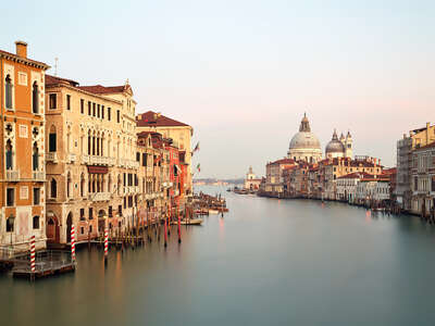 Venice City Art: Canal Grande dal ponte dell`Accademia by Horst & Daniel Zielske