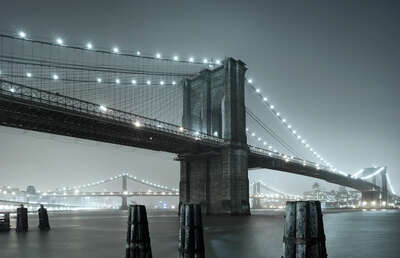 New York Bilder: Brooklyn Bridge I von Horst & Daniel Zielske