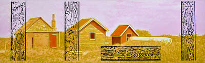 Farmhouse and Country Style Art: Cottage by Harald Klemm
