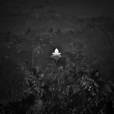 Black and White Landscape Prints: Solitaire by Hengki Koentjoro